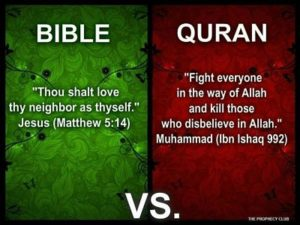 Islam apologists will say The Bible and quran are both just as violent as the other. But are they? Let's analyze and find out! By Arch Kennedy