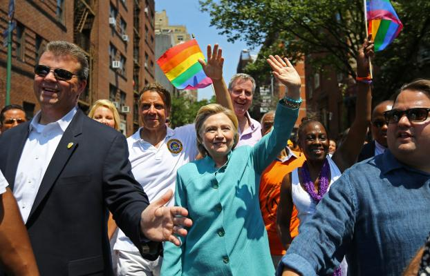 Right on cue, Hillary made her appearance at the New York City Gay Pride Parade. I spoke with Rusty Humphries about the hypocrisy of the visit. By Arch Kennedy