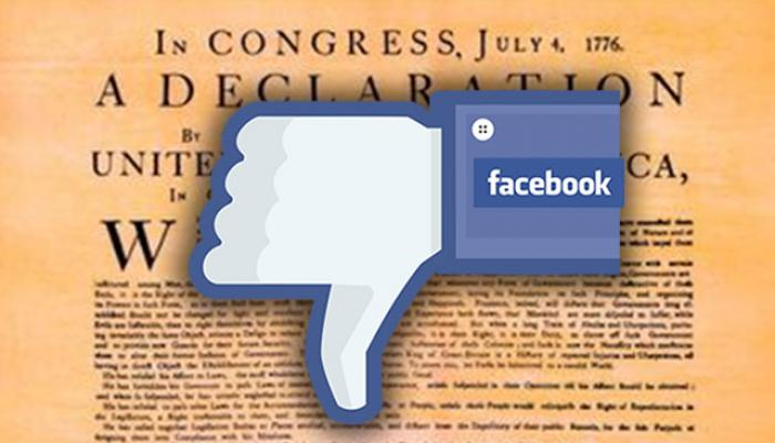 Facebook Makes Huge Mistake and Flags the Declaration of Independence as Hate Speech. By Arch Kennedy