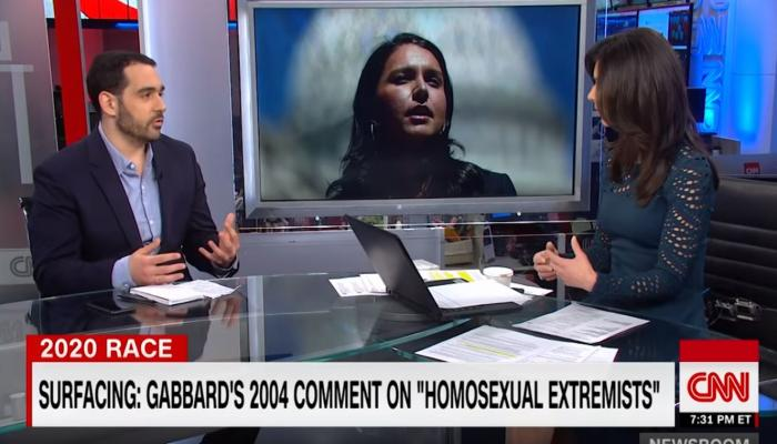 There has never been a candidate for President with more of an anti-LGBTQ history than Tulsi Gabbard. By Ray Bell.